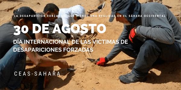 30 DE AGOSTO - DÍA INTERNACIONAL DE LAS VÍCTIMAS DE DESAPARICIONES FORZADAS