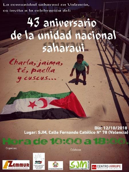 43 aniversari de la unitat nacional sahrauí