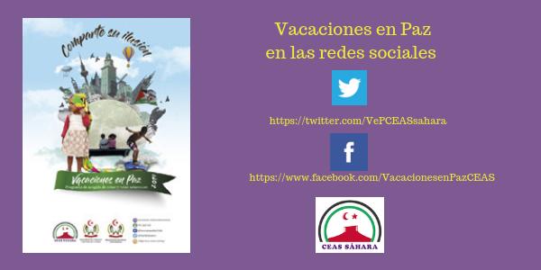 Vacaciones en Paz en las Redes Sociales