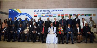 Conferencia de Solidaridad de los Ministros de la Comunidad de Desarrollo del África Austral (SADC) con el Sáhara Occidental