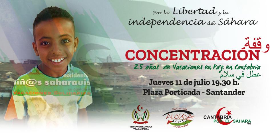 Concentración el día 11 en Santander