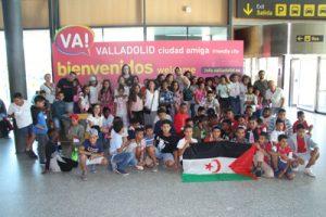 Grupo de niñas y niñas de Cantabria
