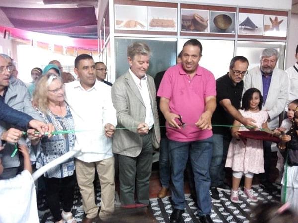 Inaguracion Casa de Cultura Sahara zaragoza