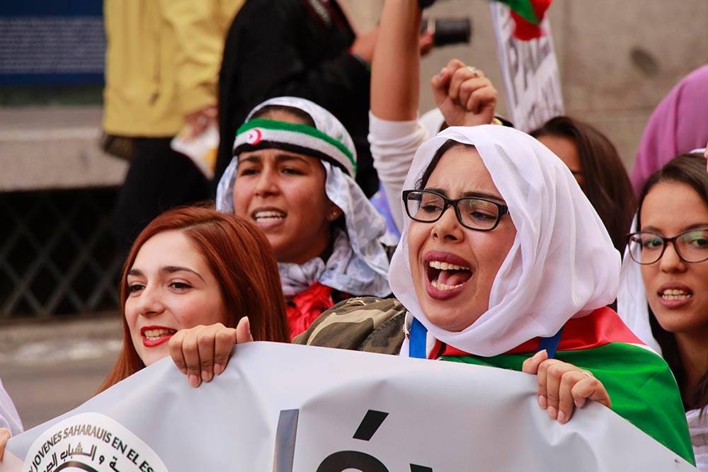Imagen de la manifestación del 2018