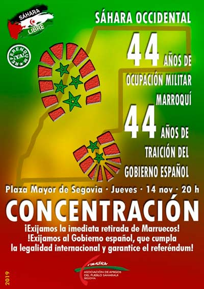 Cartel convocatoria Segovia