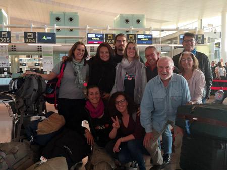 Foto de los integrantes de la COmisión médica de Baleares