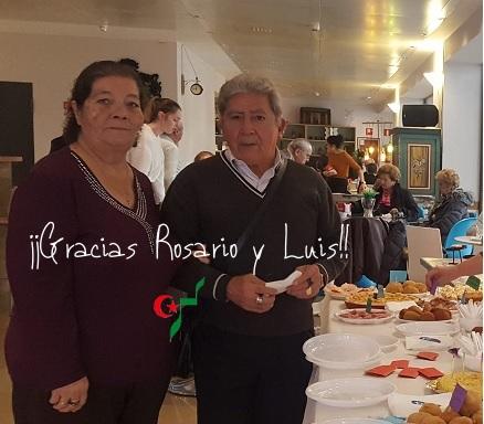 Rosairo y Luis en la tapeo