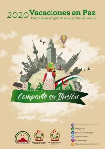 Cartel Vacaciones en paz 2020
