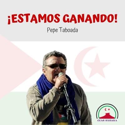 Pepe Taboada, una vida dedicada a la lucha por el pueblo saharaui.