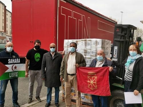 Caravana solidaria Navarra 2021