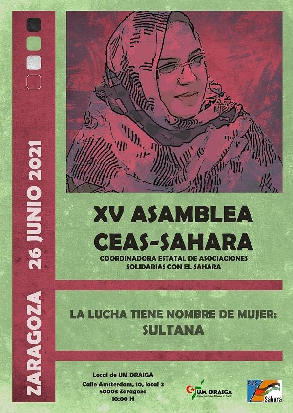 XV Asamlea Ordinaria de CEAS-Sahara y Asamblea Extraordinaria