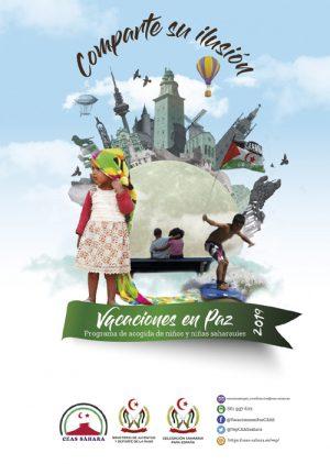 Cartel Vacaciones en Paz 2019